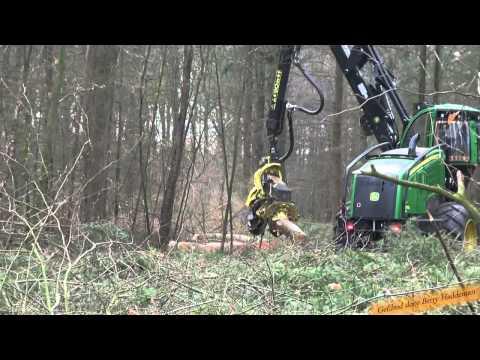 Harvester John Deere 1270E / H480C Houtoogstmachine - Bosbouw / Forestry