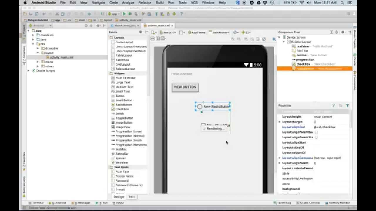 Tutorial android indonesia home   facebook.