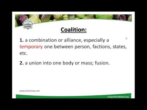 Forming A Regional Food System Council Or Coalition
