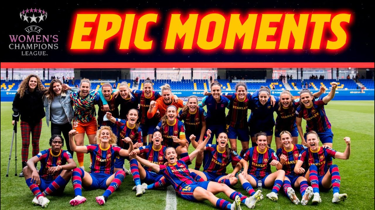 🔥💪 Road To UWCL Final (Gotemborg 2021)