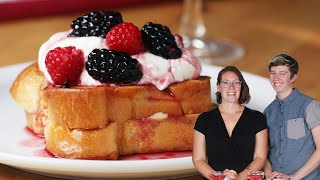 Berry-Stuffed French Toast for Two