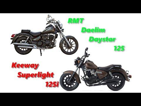 choppery 125ccm: Daelim RMT Daystar vs Keeway Superlight No.26