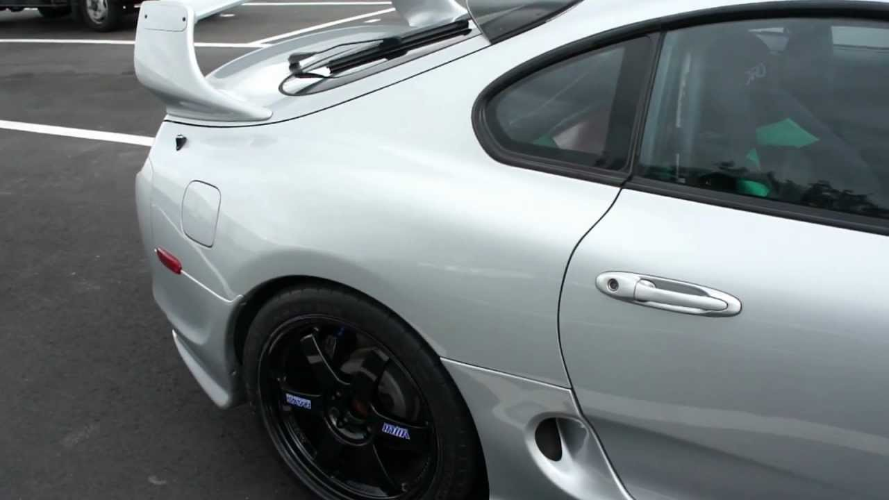 Toyota Supra Black >> Supra TE37 Black Wheels. - YouTube