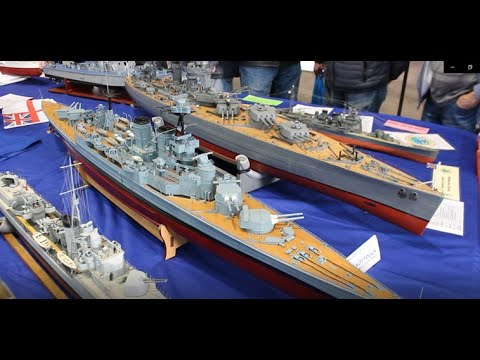 London Model Engineering Exhibition 2020 - Warships on Display
