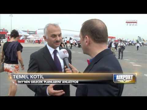 Habertürk / Airport: Güntay Şimşek'in Konuğu Temel Kotil