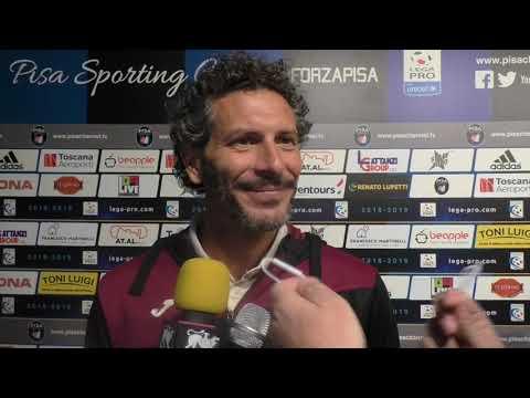 Pisa-Arezzo 0-0, intervista ad Alessandro Dal Canto