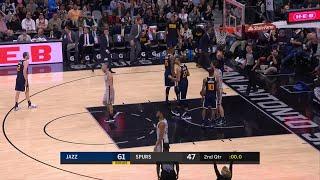 2nd Quarter, One Box Video: San Antonio Spurs vs. Utah Jazz