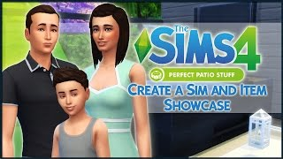 The Sims 4 Perfect Patio Stuff - Create a Sim and Item Showcase