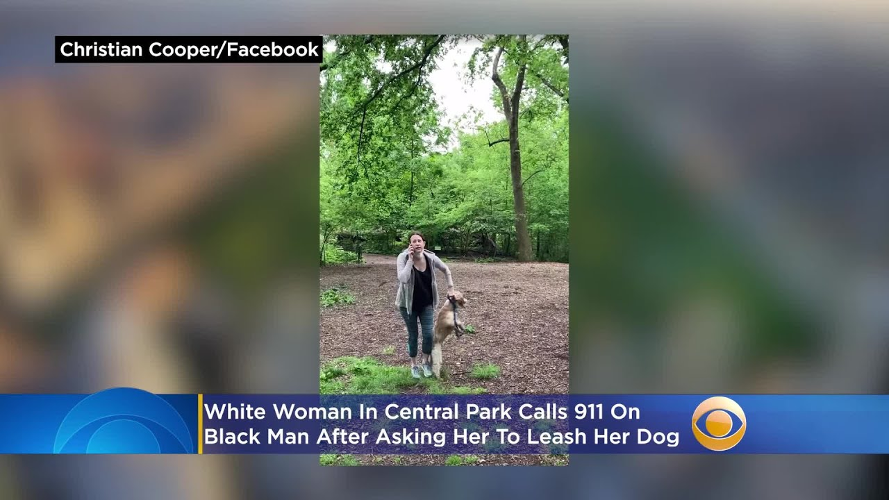 White Woman In Central Park Call 911 On Black Man After Asking Her To Leash Her Dog