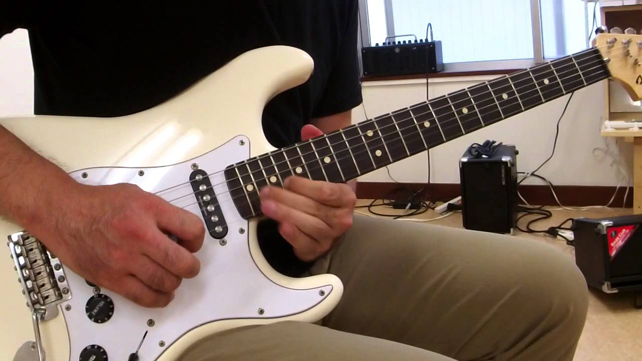 Fender Stratocaster Neck >> Fender Mexico Ritchie Blackmore Stratocaster Demo②Crunch ...