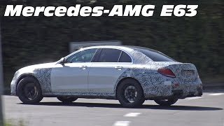 2017 Mercedes-AMG E63 (W213) Spied Testing on the Nurburgring