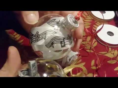 How to Create Music Note Ornaments DIY
