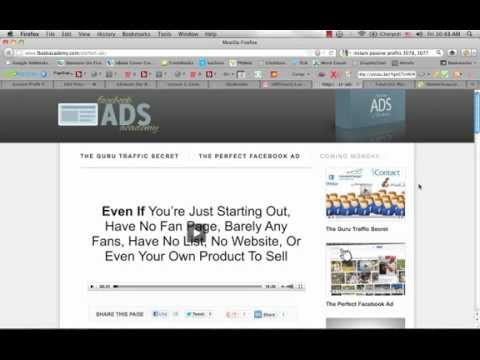 Facebook Ads Academy Video # 2 Released by Brian Moran