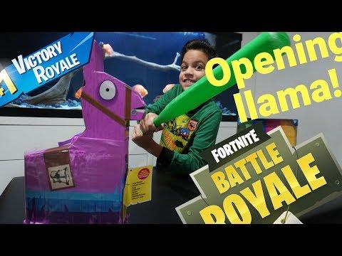 Jazwares  Fortnite Llama  Drama Loot Piñata Unboxing!! FIRST LOOK!