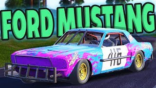 FORD MUSTANG IN WRECKFEST! - Next Car Game Wreckfest UPDATE