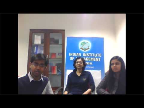 Webinar-II  Working Manager's Program 2017  2019 , IIM Lucknow Noida Campus