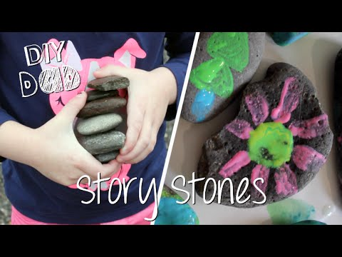 HOW TO MAKE STORY STONES | DIY Dad: epoddle