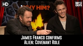 James Franco Practically Confirms Alien: Covenant Casting