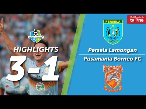 Persela Lamongan vs Borneo FC: 3-1 All Goals & Highlights