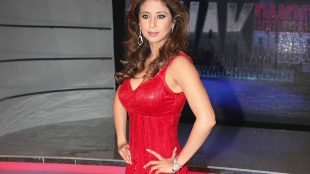 Urmila Matondkar Hot In Red Dress - Youtube-9760