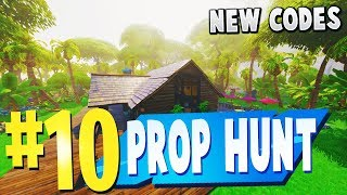 TOP 10 BEST PROP HUNT Creative Maps In Fortnite (NEW CODES) | Fortnite Prop Hunt Map CODES