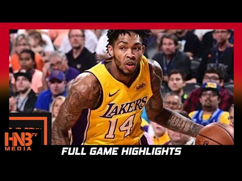 LA Lakers vs Phoenix Suns Full Game Highlights / Week 5 / 2017 NBA Season