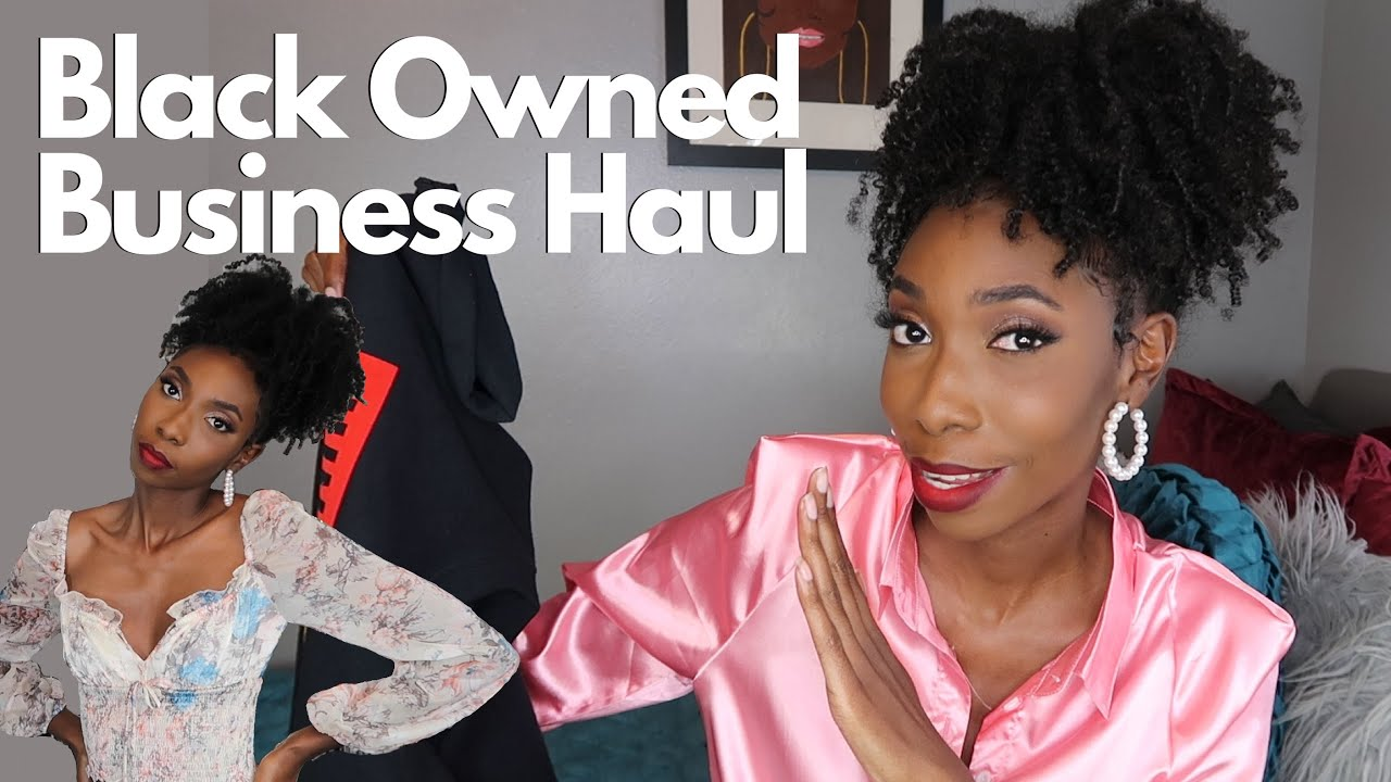 Black Owned Business Haul!!