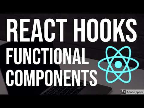 React Hooks Functional Components #01