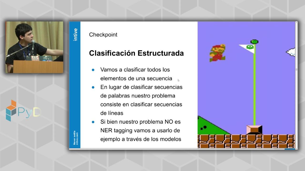 Image from Extracción de secciones de textos