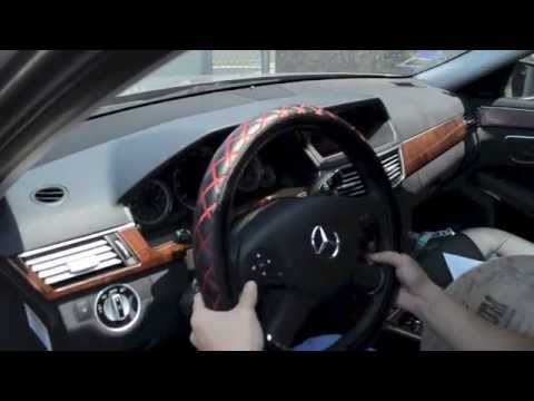 30 Seconds Steering Wheel Cover Installation Youtube