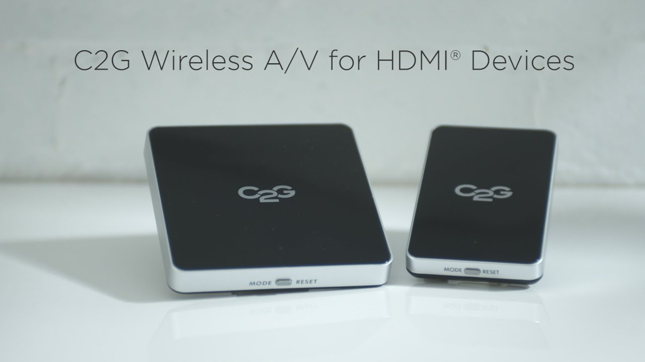 Wireless A/V for HDMI - YouTube