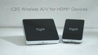 Wireless A/V for HDMI
