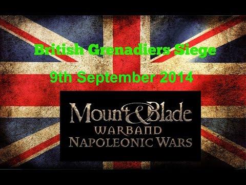 British Grenadiers (BG) Napoleonic Wars Siege