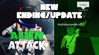 ROBLOX ALIEN ATTACK 👽 NEW ENDING | UPDATE