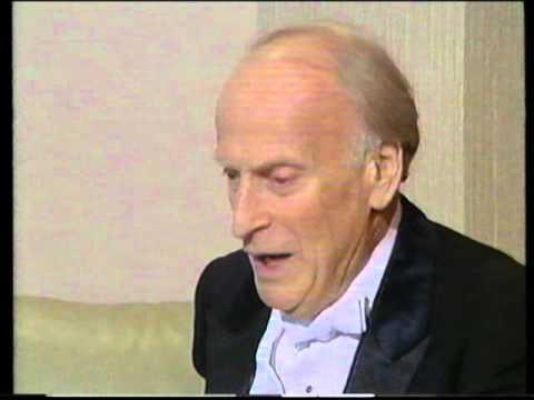 Julian Lloyd Webber interviews Sir Yehudi Menuhin