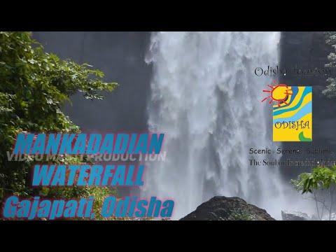 Mankada Dian Waterfall Gajapati Odisha Visiting Place In Odisha