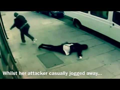 RACIAL ATTACK ON MUSLIM GIRL WEARING HIJAB   LONDON   UNITED KINGDOM