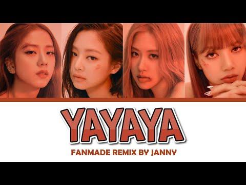 BLACKPINK - 'YAYAYA' (Color Lyrics Eng/Rom/Han)