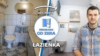 MIESZKANIE OD ZERA #8 - Pomysł na małą łazienkę