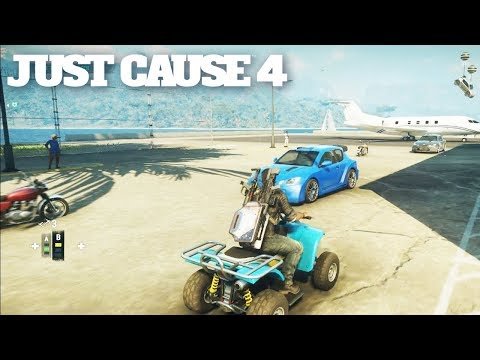 JUST CAUSE 4 - Secret Gun IS INSANE! & Film Mode For Stunts/First Person Planes/Cars Explained