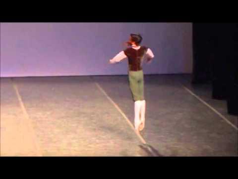SELECIONADO YAGP  15- JOÃO PEDRO MENEGUSSI - 13 ANOS - BALLET MÔNICA TENORE