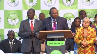 Kenya's incumbent leader Kenyatta clinches second term