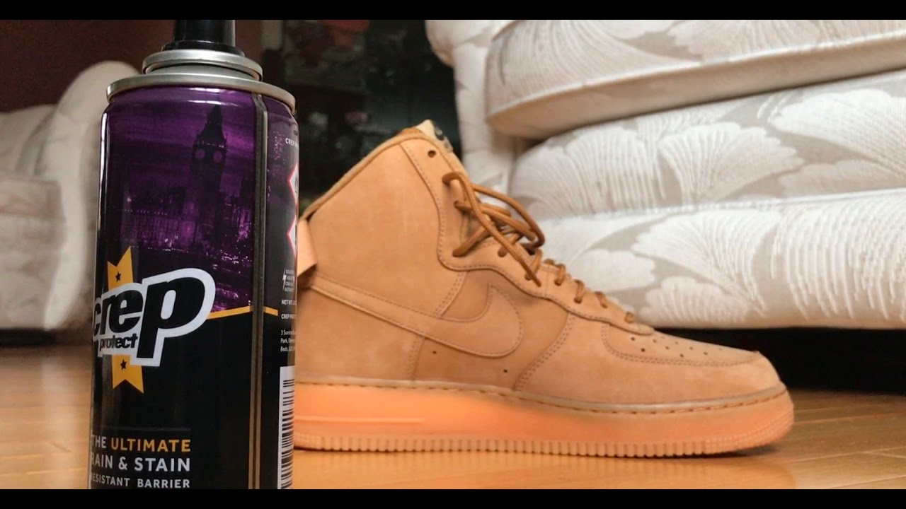 CREP PROTECT RUINED SNEAKERS!!!