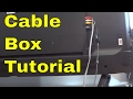How To Connect A Cable Box To A TV-FULL Tutorial