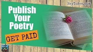 In this episode, we discuss how to publish your poetry online and books. also, learn you can make money writing poems. get 5 great ways do just tha...