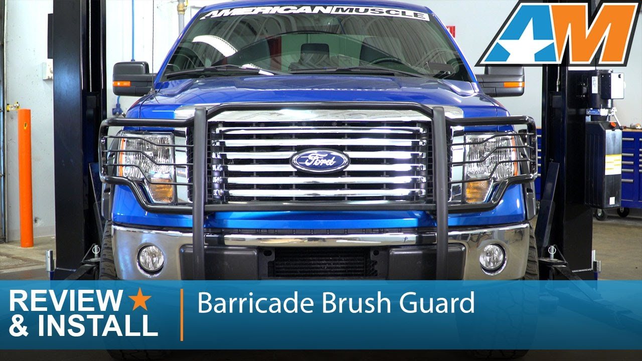 2018 F150 Review >> 2009-2014 F-150 Barricade Brush Guard Review & Install - YouTube