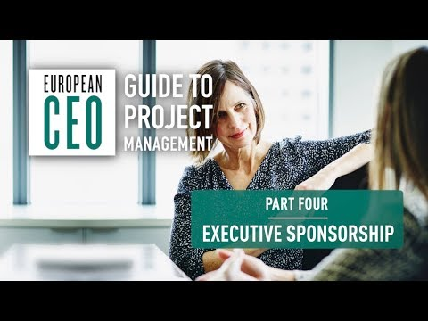 European CEO Guide to Project Management – Part Four – Executive Sponsorship