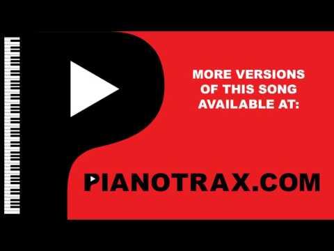 Just As I Am - Sacred Piano Karaoke Backing Track - Key: D