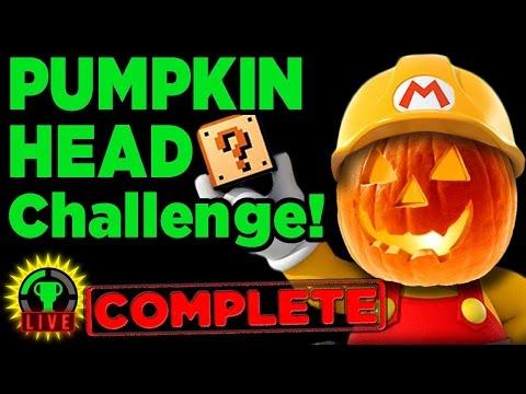 GTLive: Mario Maker's Pumpkin Head Challenge