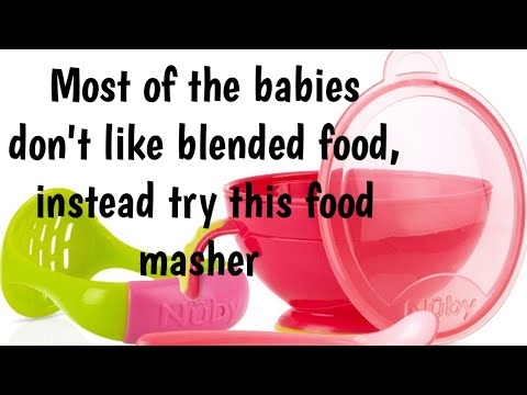 Baby Food Masher Review